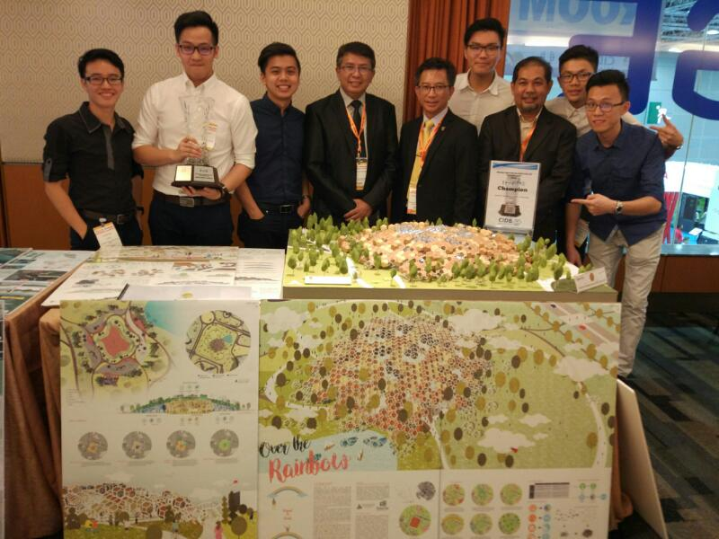 UTM Architecture and Civil Engineering Students Garners Gold and Silver at MSSA OIC 2017
