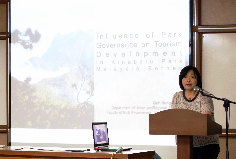 Talk by Dr. Goh Hong Ching