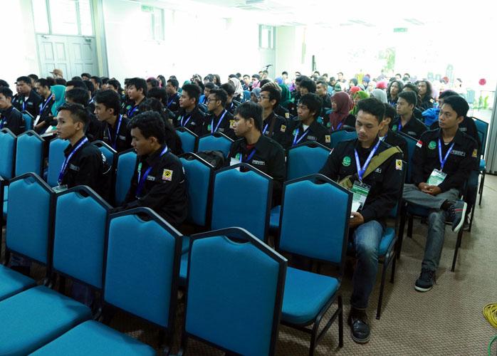 Lawatan dari Universitas Tadulako, Sulawesi Tengah, Indonesia