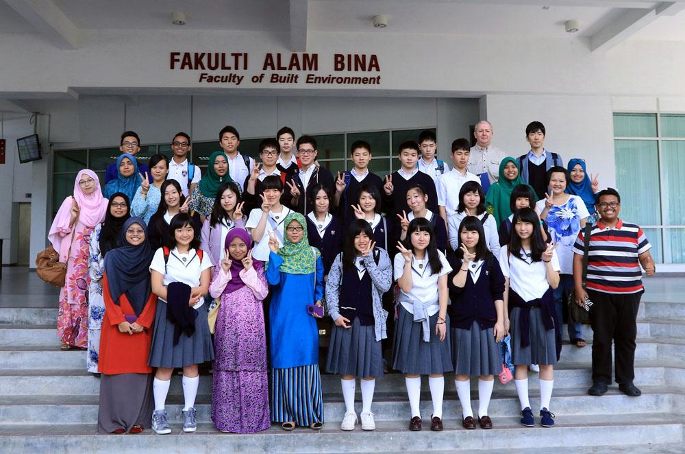 Academic Visit from Seifu Nankai Junior and Senior High School, Japan