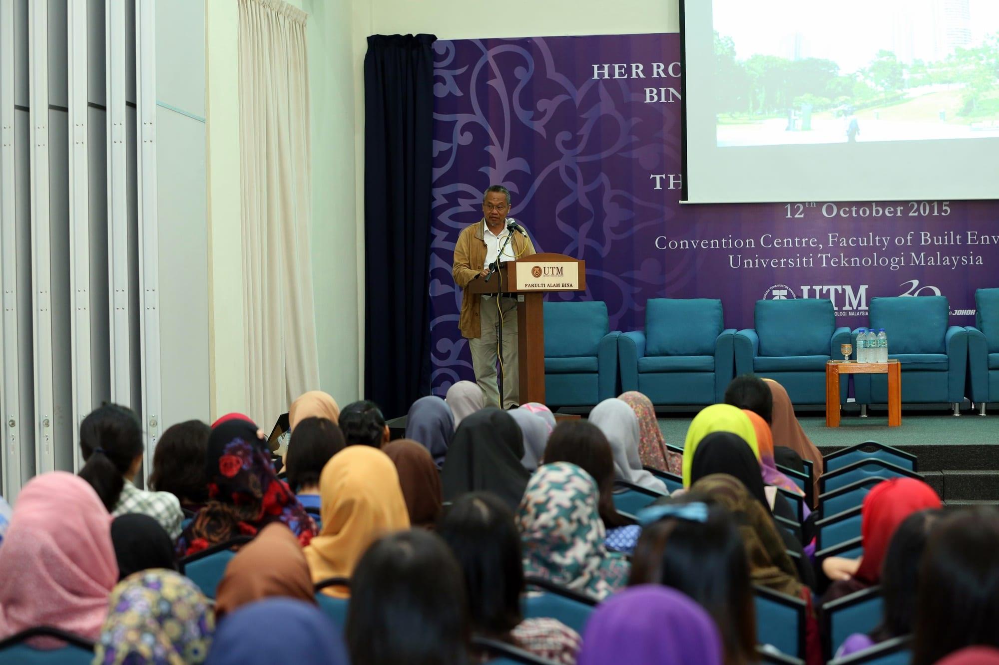 Professor Emeritus Day , Department of Landscape Architecture featuring Prof. Emeritus LAr. Dr. Ismawi Zen