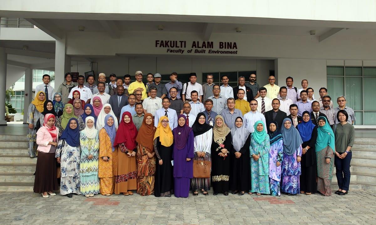 Lawatan Y.Bhg. Datuk Naib Canselor ke Fakulti Alam Bina