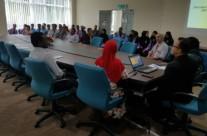 Lawatan SMK Tengku Kudin, Raub, Pahang