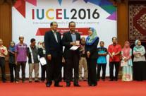 Sr. Dr. Sarajul Fikri Mohamed Won Gold Medal Award at the International University Carnival on e-Learning (IUCEL 2016)