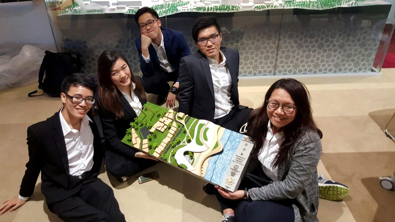 UTM Architecture Students Won Special Chief Jury Award At ISAIA2016 International Student Design Competition, Tohoku University, Japan