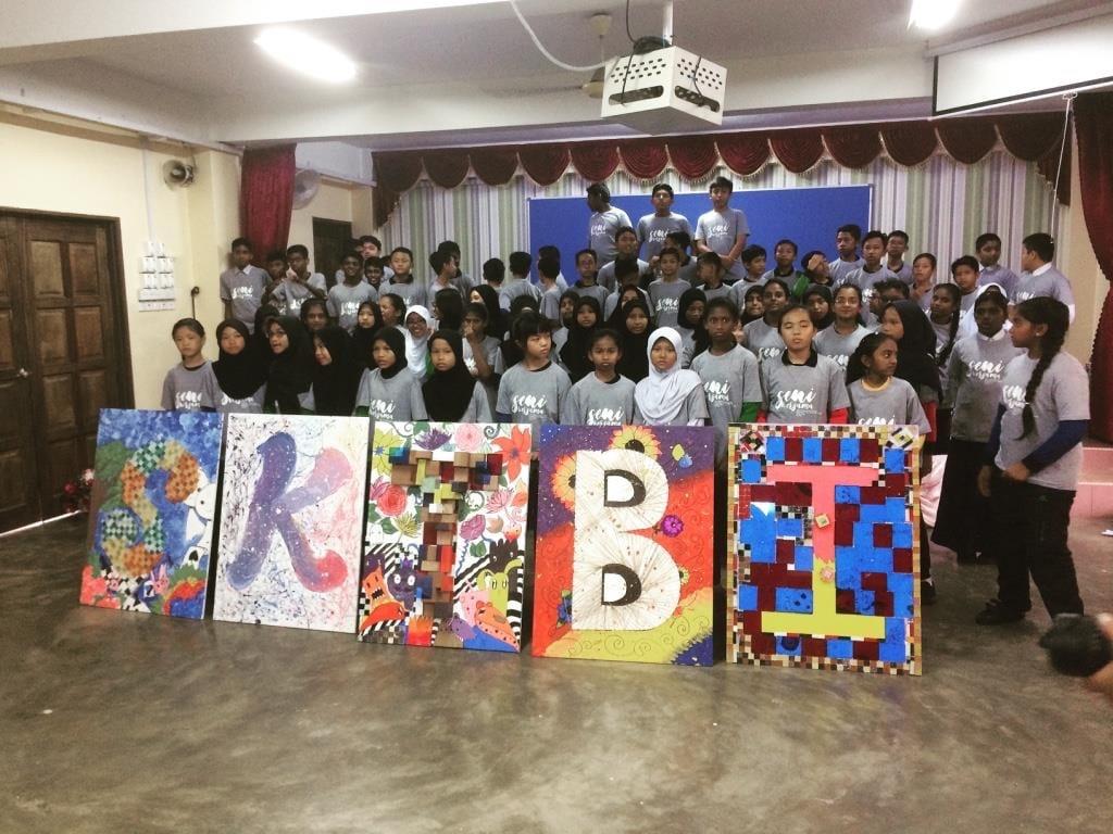 Greenovation Reaches School Community to Educate Children on Interactive Artworks – Irfan Suria