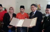 Majlis Perjanjian Usahasama Projek Pembangunan Taman Komuniti Pasir Gudang