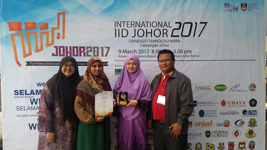 FBE Won Silver Medal Award at Invention, Innovation and Design (IID)