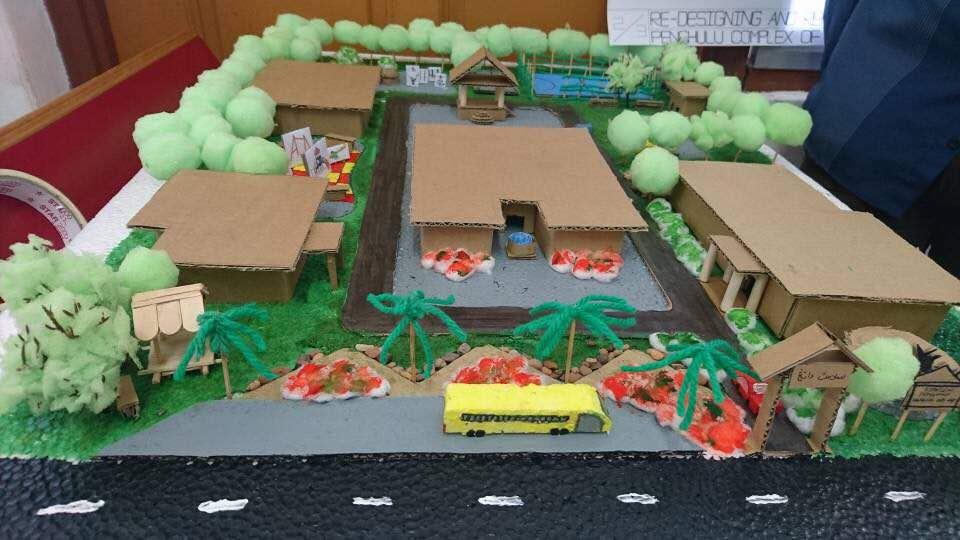 Project Redesigning of Penghulu Complex at Mukim Api Api