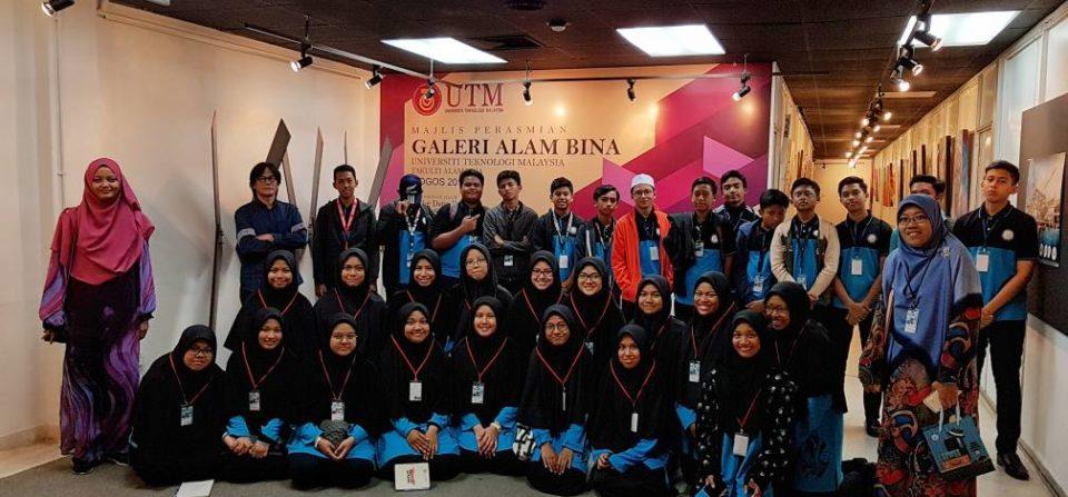 Lawatan dari Sekolah Menengah Islam Al Amin Bestari D'Merlimau, Melaka