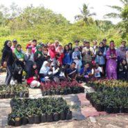Planting Seedlings with Pasir Gudang Community
