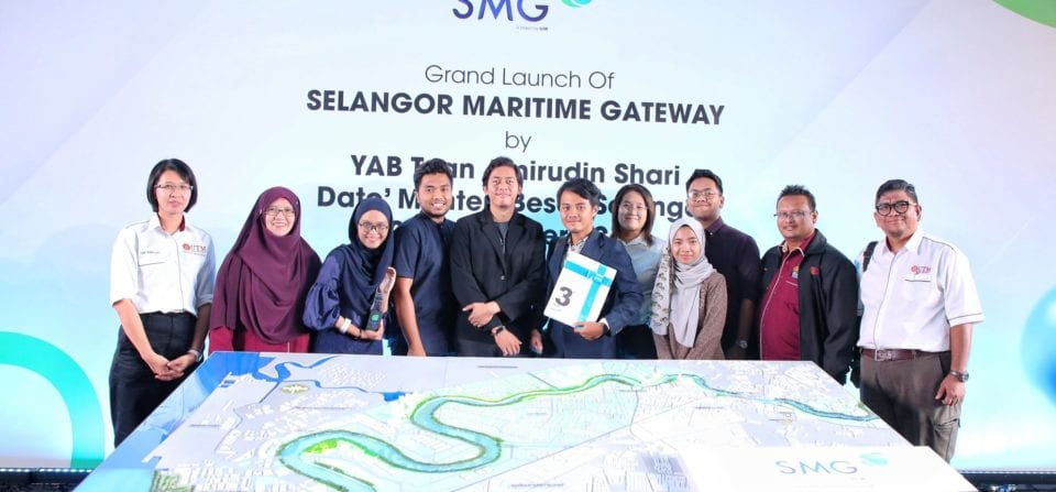 Faculty of Built Environment and Surveying UTM won third place in Reinvigoration of Klang Islands Inter-varsity Conceptual Design Competition for Selangor Maritime Gateway (SMG)