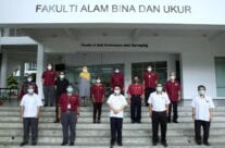Majlis Serah Tugas Dekan Fakulti Alam Bina dan Ukur
