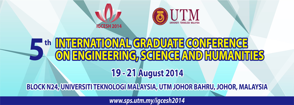 5th International Graduate Conference on Engineering, Science and Humanities