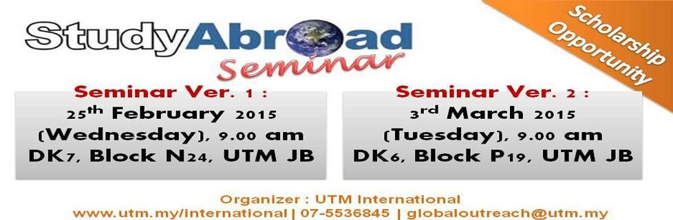 Study Abroad Seminar