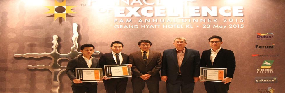 UTM Architecture Students Awarded Prestigious  PAM-Feruni Ceramiche 2015 Scholarship