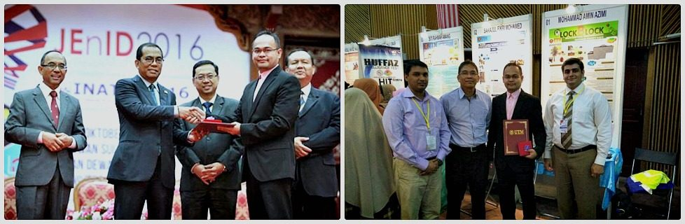 FBE Researchers Won One Gold and One Silver Medal in INATEX 2016