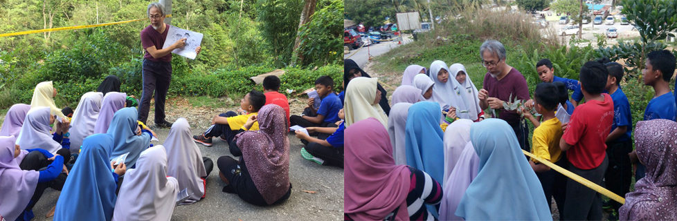 Landscape Ecology Program at Gunung Pulai Forest Reserve