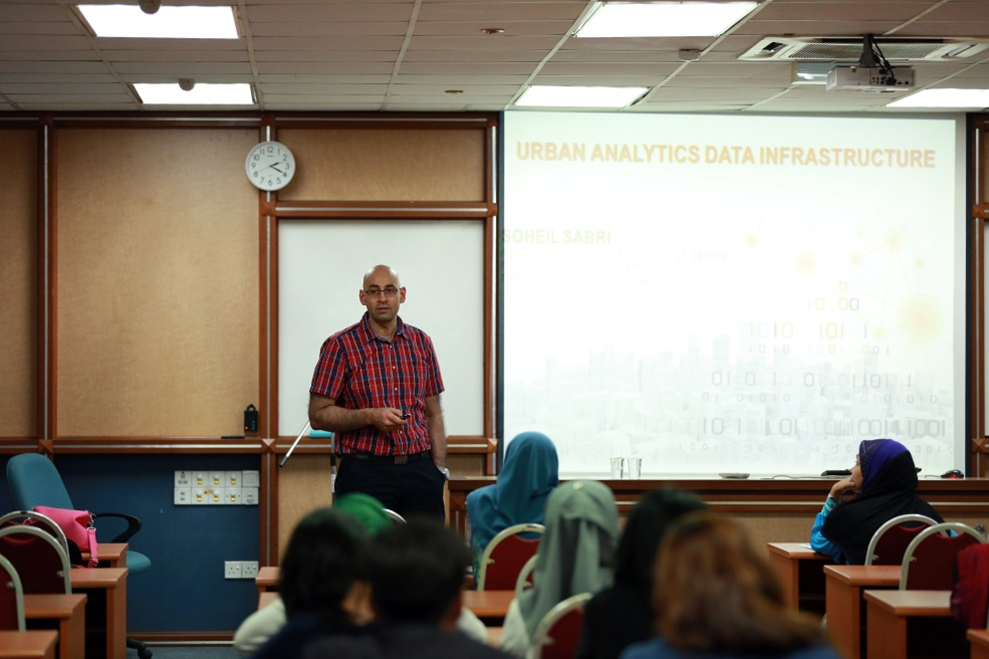 An Urban Analytics Data Infrastructure (UADI): A New Ontological Framework to Underpin The Next Generation of Smart Decision-Support Tools by Dr.Soheil Sabri