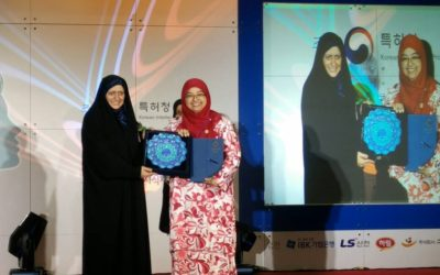 UTM Won Gold Award at Korea International Women Inventions Exposition (KIWIE2017)