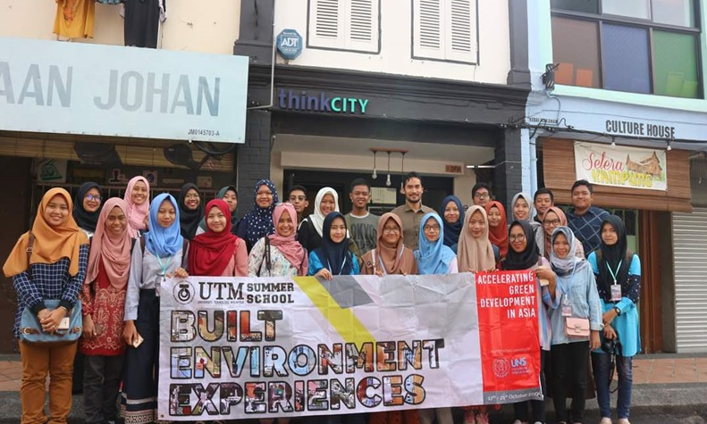 UTM Summer School-Built Environment Experiences 2017