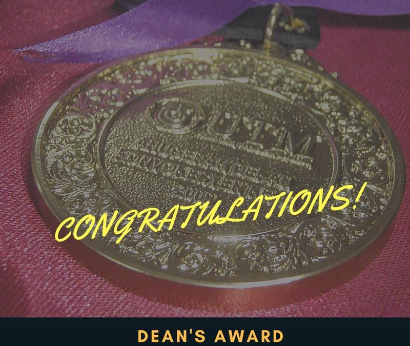 Dean's Award (59th Convocation)