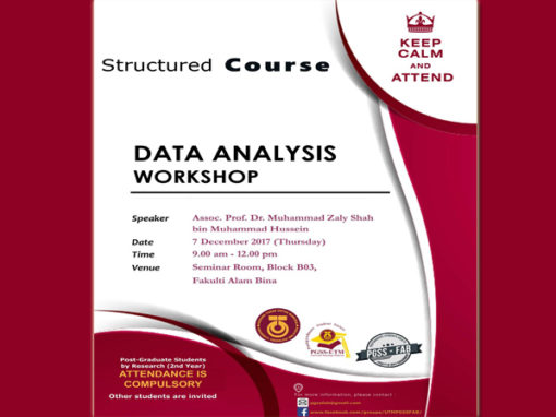 Structured Course – Data Analysis Workshop