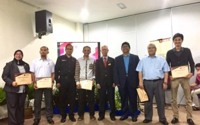Quantity Surveying Computer Lab officially launched by Ybhg Dato' Sr Abdul Aziz Abdullah, President of Board of Quantity Surveyors Malaysia (BQSM)