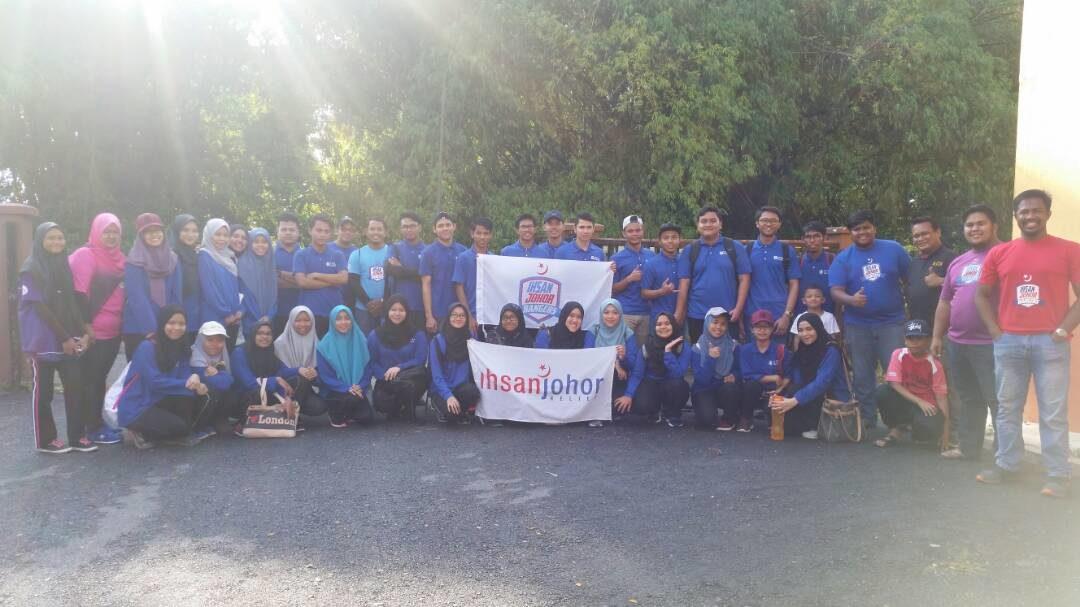 Projek Komuniti Deko Rangers bersama Ihsan Johor