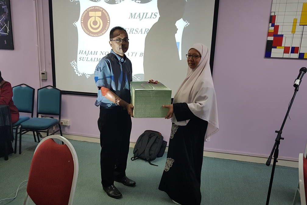 Majlis Persaraan Puan Norhayati Sulaiman (PA Dekan)