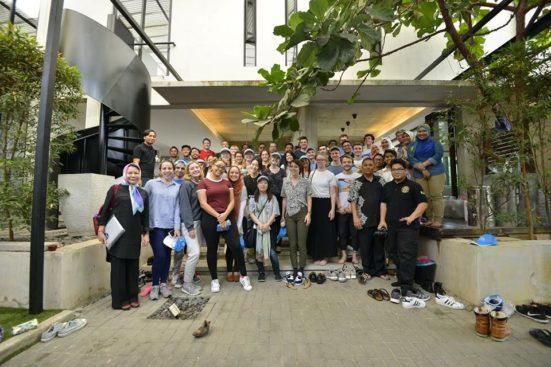 31 architectural students from KU visits Malaysia