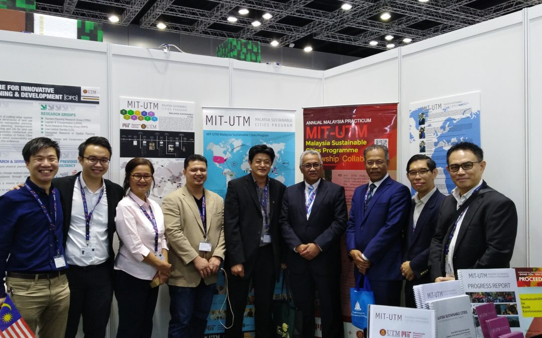 "UTM-LCARC, JPBW and ISI Exhibit and Promote Malaysia's ""Science to Action"" (S2A) Approach to Low Carbon, Sustainable Communities at WUF9"