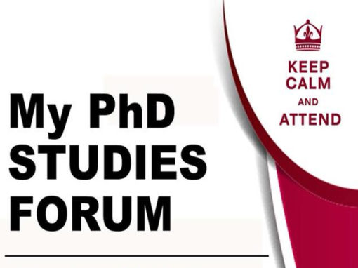 My PhD Studies Forum