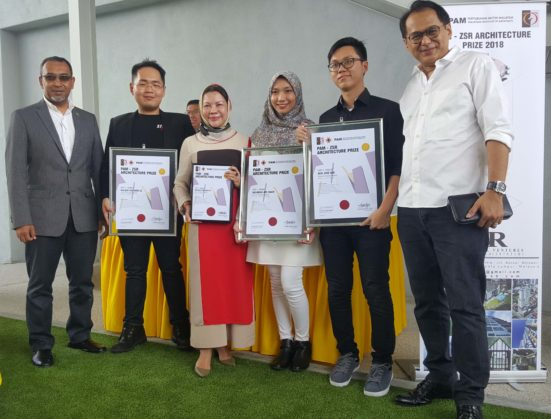 Three UTM Students won PAM-ZSR Architecture Prize 2017