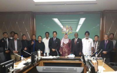 Pembentangan Dasar Pembangunan Luar Bandar 2030 di Kementerian Pembangunan Luar Bandar, Putrajaya