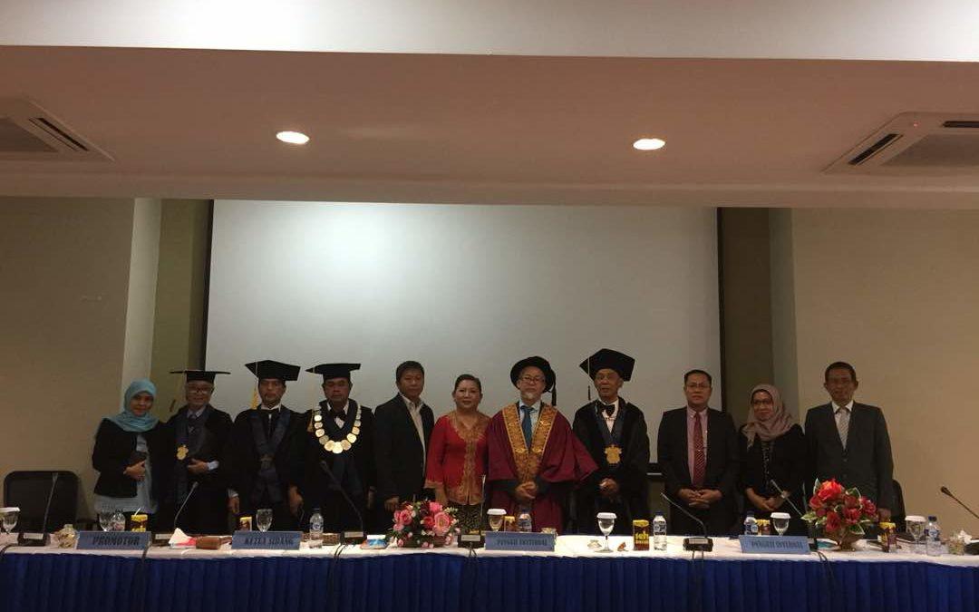 Prof. Ismail Said as External Examiner at Fakultas Teknik Universitas Hasanuddin