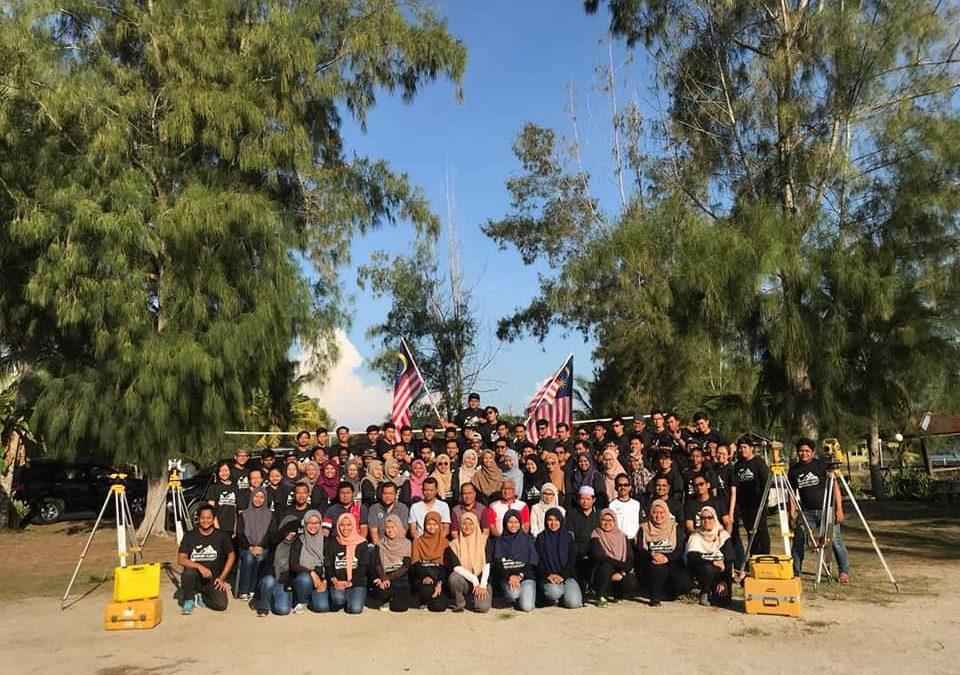 Program Khemah Ukur Pelajar Tahun Dua Sarjana Muda Kejuruteraan (Geomatik)