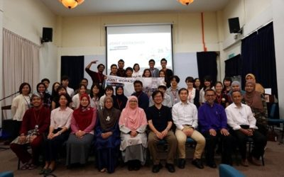 UTM LANDSCAPE ARCHITECTURE COLLABORATED WITH TOKYO CITY UNIVERSITY (TCU) JOINT WORKSHOP 2018