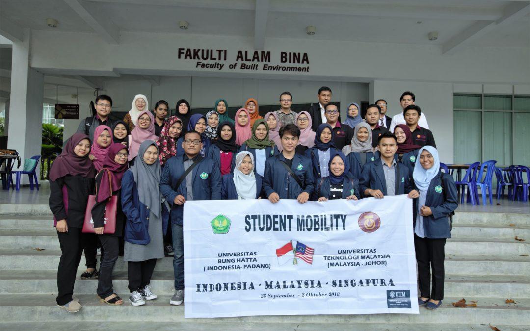Lawatan Mobiliti Pelajar Universitas Bung Hatta ke FABU