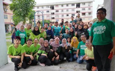 Majlis Pelancaran Pembinaan Projek Rintis Ruang Kejiranan Program Rejuvenasi Pangsapuri 560 Bandar Bukit Puchong