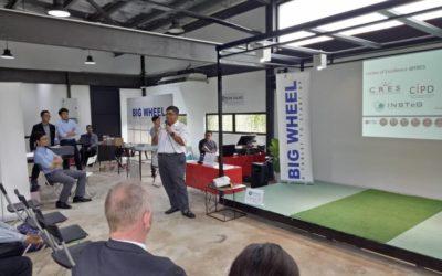 Professor Dr Mohd Hamdan Ahmad as a speaker at Green Talk with Construction