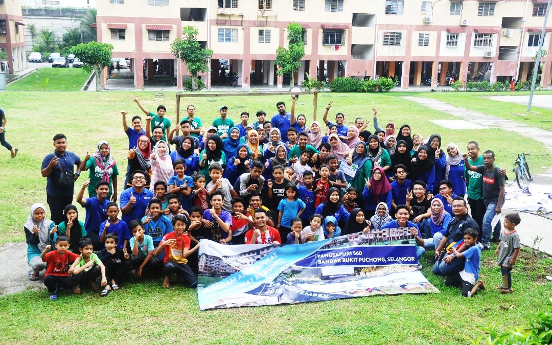 Projek Anak Angkat & Khidmat Komuniti UTM-MPSJ di Bukit Puchong
