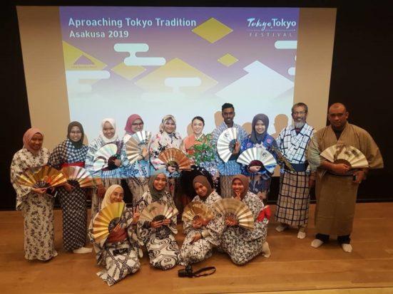 Pelajar Geoinformasi dari FABU sertai Global Outreach Program (GOP) Ke Tokyo, Jepun