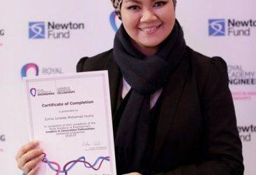 FABU's Logistic Expert Dr. Zuhra Junaida Participated in Leaders in Innovation Fellowship (LIF) Program in London, UK.