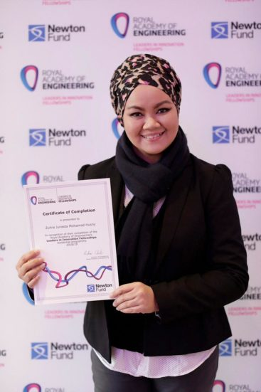 FABU's Logistic Expert Dr. Zuhra Junaida Participated in Leaders in Innovation Fellowship (LIF) Program in London, UK.
