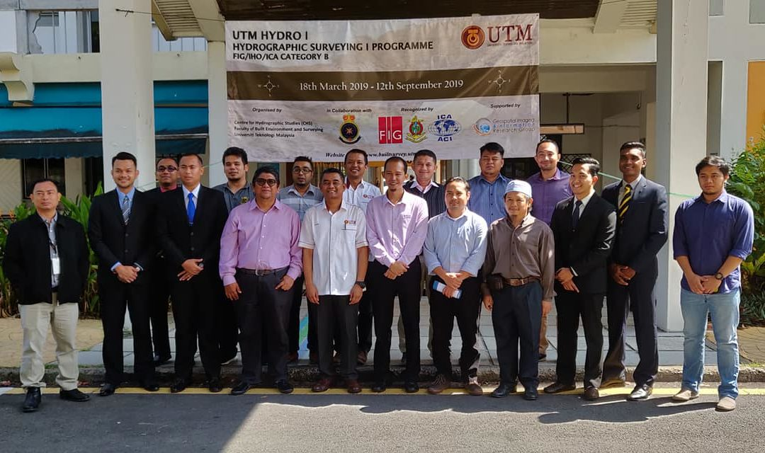 UTM HYDRO I HYDROGRAPHIC SURVEYING I PROGRAMME FIG/IHO/ICA CATEGORY B