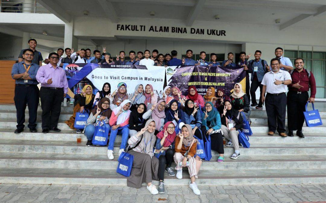 Lawatan SMA Progresif Bumi Sholawat Sidoarjo ke FABU