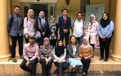 Sesi Meet & Greet Delegasi FABU UTM & Education Malaysia Australia