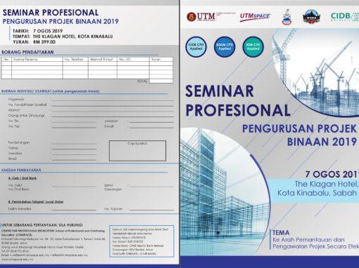 Seminar Profesional Pengurusan Projek Binaan 2019