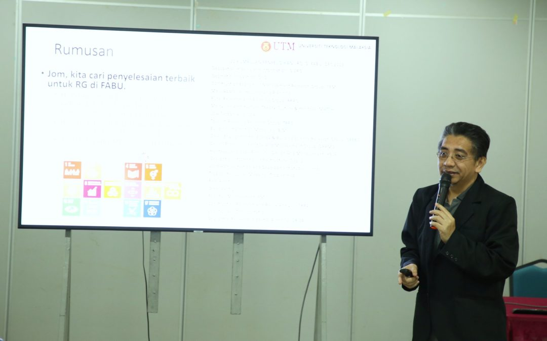 Bengkel Sinergi dan Penstrukturan Semula Kumpulan Penyelidikan (RG) FABU
